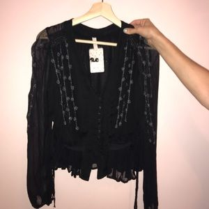 NWT • Free People Blouse